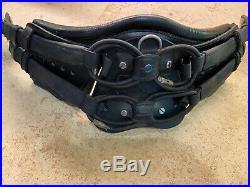 Stubben Horse Equi-Soft Leather Dressage Girth 26 BLACK