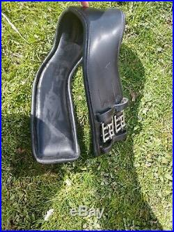 Total Saddle Fit, Dressage 28Leather Girth, Shoulder Relief