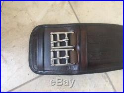 Total Saddle Fit Leather Dressage Girth Black Size 30 purchased but never used