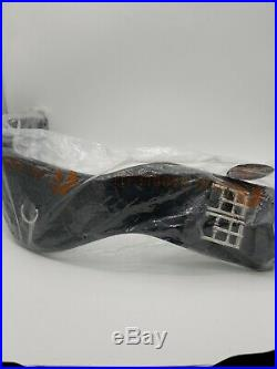 Total Saddle Fit Shoulder Relief Dressage Girth Black 24 In