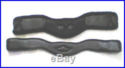 Total Saddle Fit Shoulder Relief Girth, 34 leather Dressage with Sheepskin cover