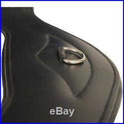 Total Saddle Fit Shoulder Relief Girth Dressage Black 20 New