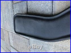 Total Saddle Fit- Shoulder Relief Girth Dressage, Size 28, Black Leather