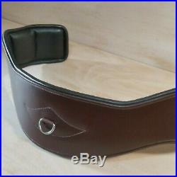 Total Saddle Fit- Shoulder Relief Girth Dressage, Size 32, Brown Best Leather