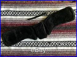 Total Saddle Fit StretchTec Dressage Girth 24 Black Fleece Liner