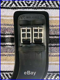 Total Saddle Fit StretchTec Dressage Girth 26 Black Neoprene Liner