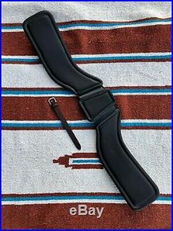 Total Saddle Fit StretchTec Dressage Girth 28 Brown Leather Liner