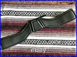 Total Saddle Fit StretchTec Dressage Girth 30 Black Leather Liner