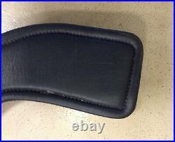 Total Saddle Fit StretchTec Leather Dressage Girth Black 18