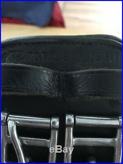Total Saddle Fit StretchTec Shoulder Relief Dressage Girth Black 24