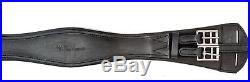 Toulouse (and other brands) Black Leather Dressage Girth Clearance
