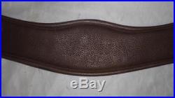 Vintage Jaguar Havana English Leather Elasticated Dressage Girth- 32